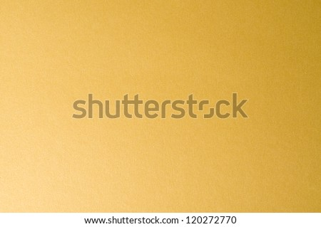 golden cardboard textured background - stock photo