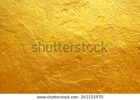 golden cement texture background - stock photo