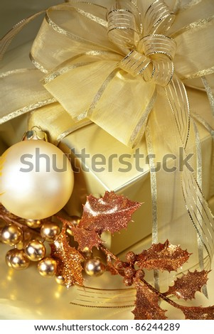 Golden Christmas