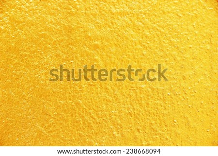 golden concrete texture background