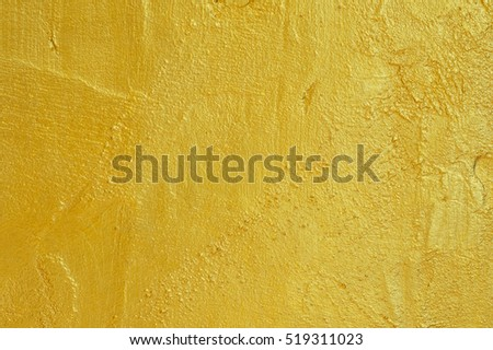 Golden concrete wall  textured background