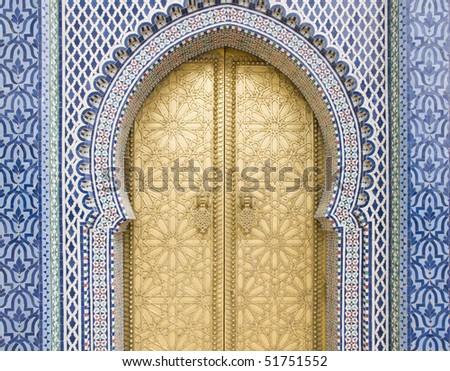 Golden door in Fes door of Royal palace & Golden Door Fes Door Royal Palace Stock Photo 51751555 - Shutterstock Pezcame.Com