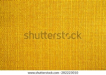 Golden fabirc texture - stock photo