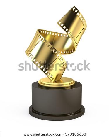 Golden Film Award Movie - stock photo