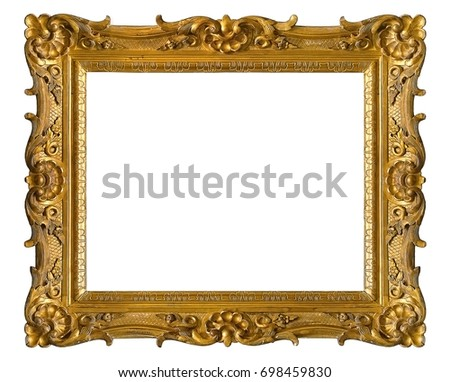 golden frame for paintings mirrors or photos - Decorate Mirror Frame