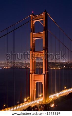 Golden Gate Bridge 2 - stock photo
