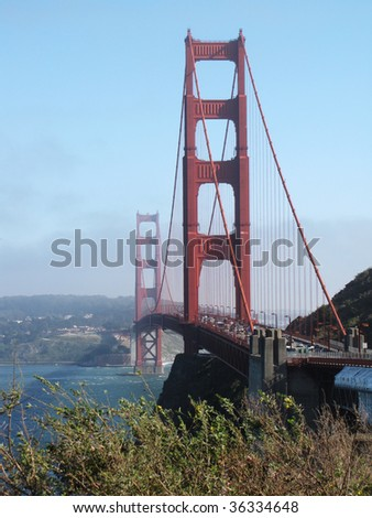 golden gate bridge at San Francisco