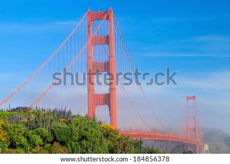 Golden Gate Bridge in San Francisco, California, USA