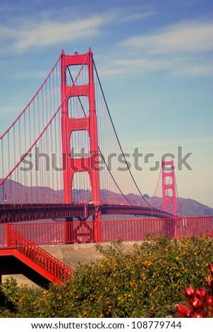 Golden Gate Bridge, San Francisco - stock photo