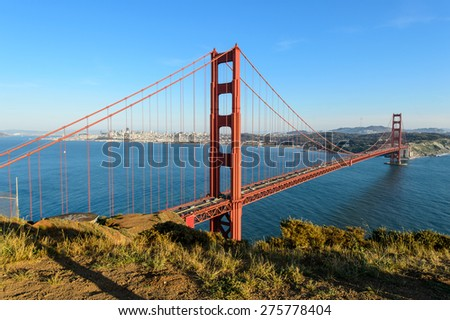 Golden gate bridge, San Francisco - stock photo