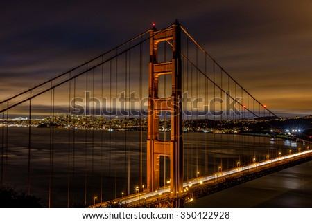 Golden Gate Bridge. San Francisco, California - stock photo