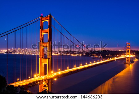 Golden Gate Glow in San Francisco