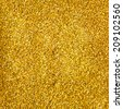 golden glitter makeup powder texture - stock photo