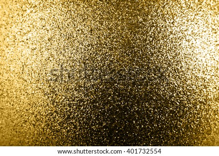 golden glitter texture christmas abstract background - stock photo