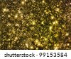 Golden glittering background - stock photo