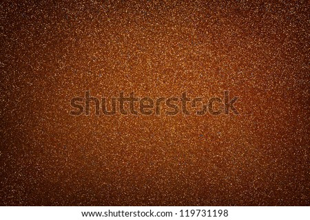 golden grunge background with texture and glitter - stock photo