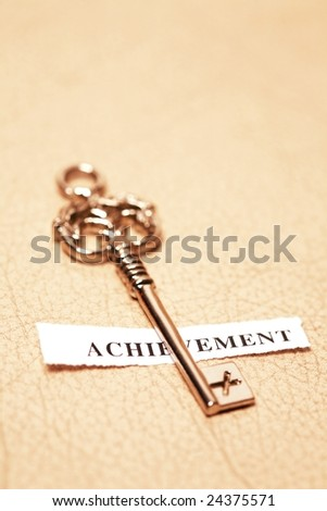 golden key for acheverment