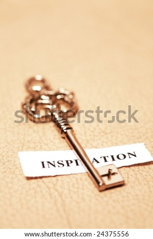 golden key for inspiration