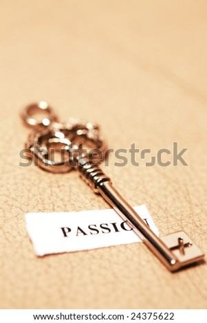 golden key for passion