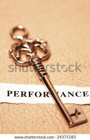 golden key for performance