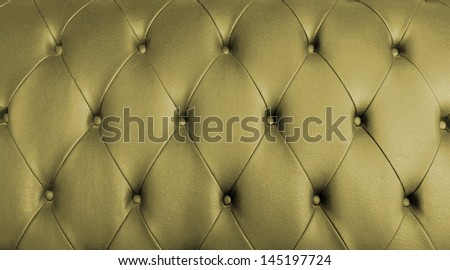 Golden leather texture, can be used as background