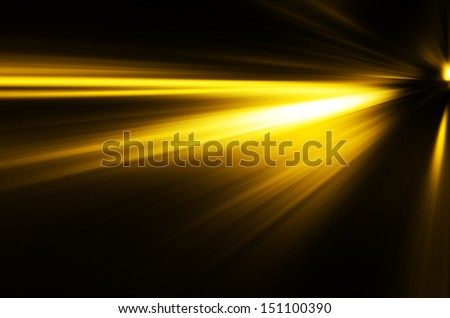 golden light background. - stock photo