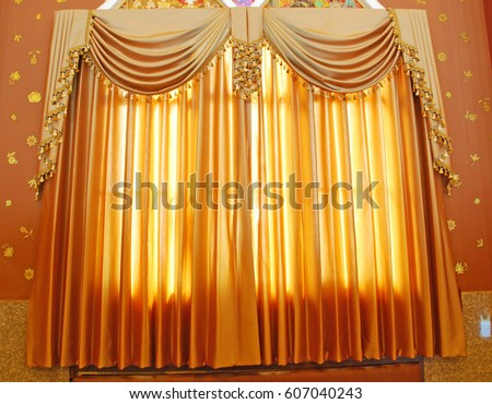 golden Luxury curtains