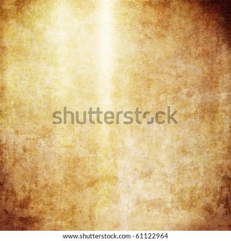 Golden metal - stock photo