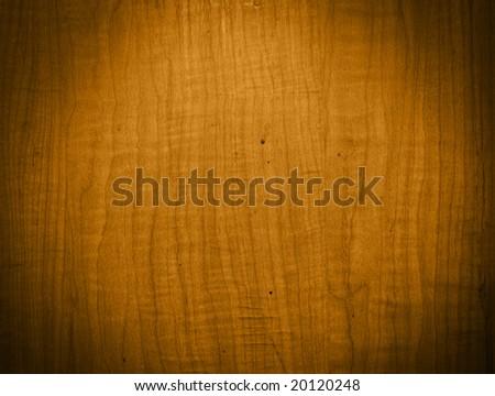 golden pine wood grain - stock photo