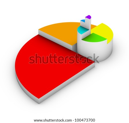 golden ratio diagram - stock photo