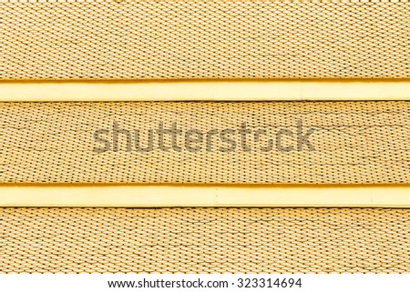Golden roof texture - stock photo