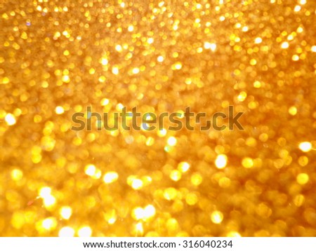 Golden shiny backdrop for holidays