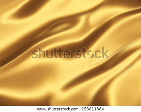 golden silk - elegant background for your projects - stock photo