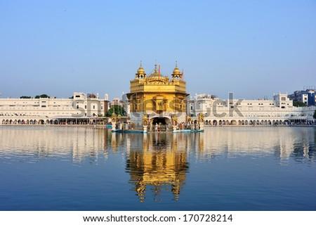 Golden Temple, Amritsar, India - stock photo