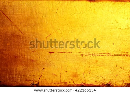 golden texture background - stock photo