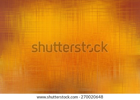 Golden yellow abstract background processed in photoshop - stock photo
