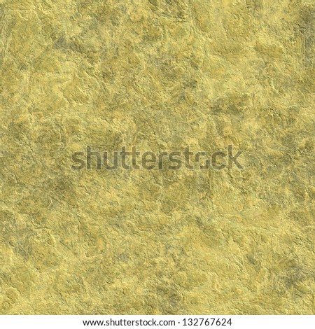 Goldish rock seamless background - stock photo