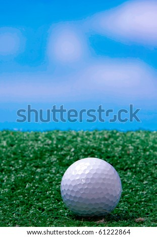 Golf - stock photo