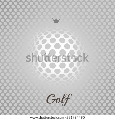 Golf background. Realistic rendition of golf ball texture. Golf texture background - stock photo