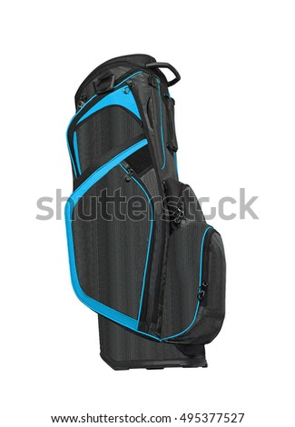 Golf Bag on white background