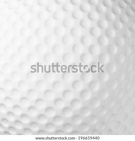 golf ball background, close up - stock photo