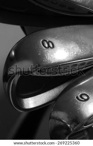 golf club, wedge - stock photo