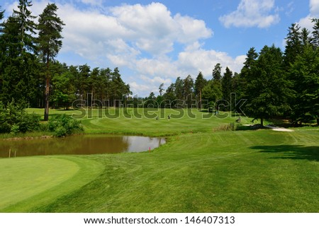 Golf course Arboretum in Slovenia