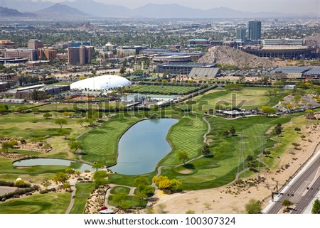 Golf Course at Arizona State University, open to the public