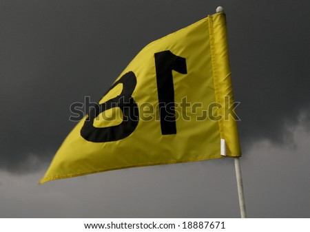 Golf Flag Eighteen