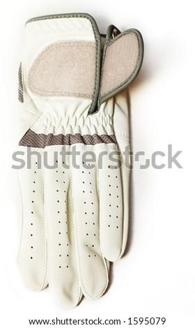 Golf glove - stock photo