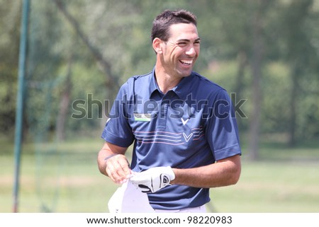 GOLF NATIONAL COURSE, FRANCE - JULY 01 :  Alvaro Quiros (ESP) at The French Open, European Tour, July 01, 2011, at  The Golf National, Albatros course, France.