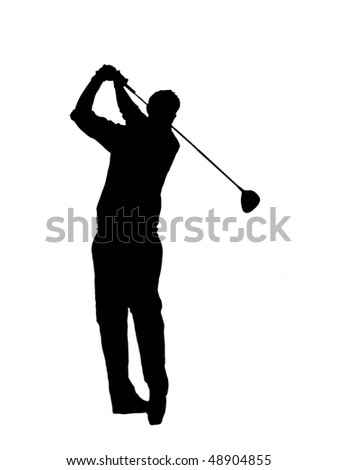 Golf-Player - stock photo
