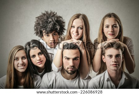 Good friends  - stock photo