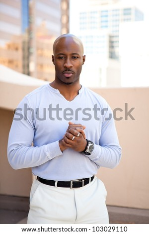 Good Looking young African American Man